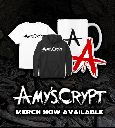 Amy's Crypt Merch Now Available
