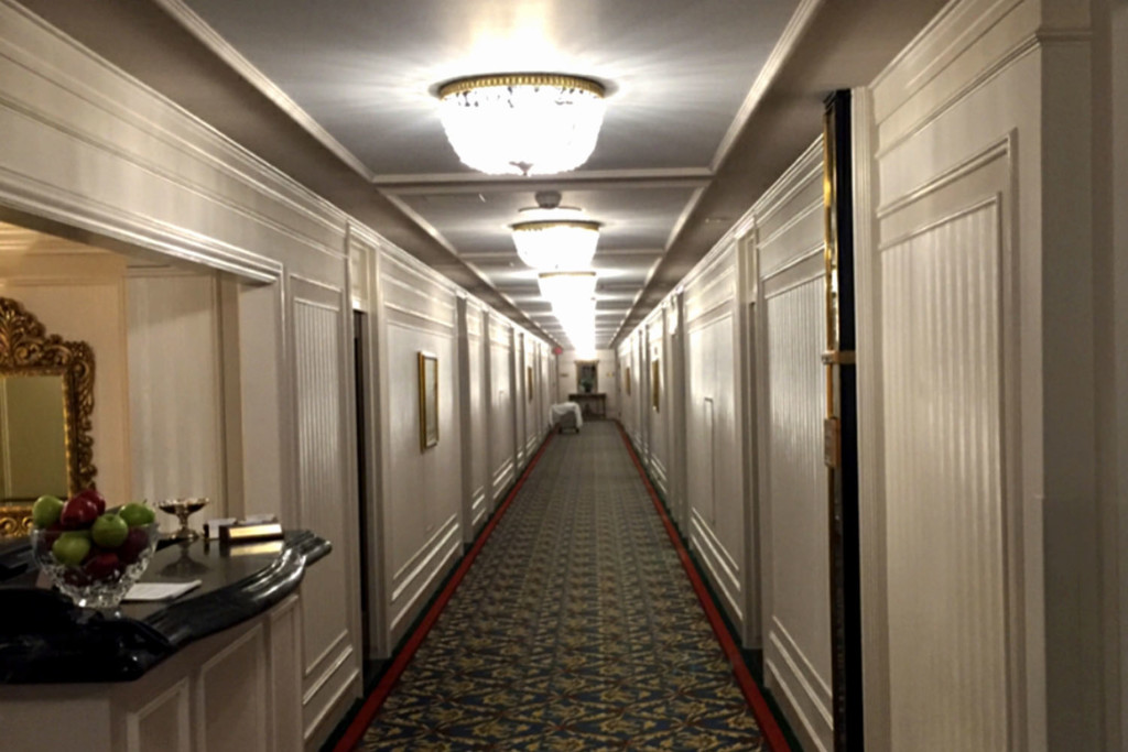 Interior of the Haunted Vancouver Hotel