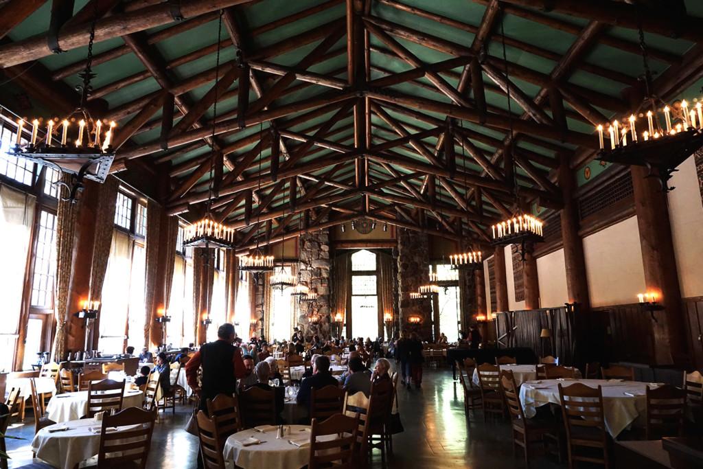 The Awahnee Hotel's Dining Hall.