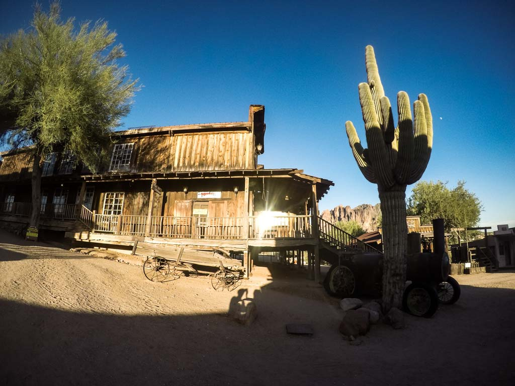 The Haunted Goldfield Ghost Town Site Near The Devil U0026 39 S