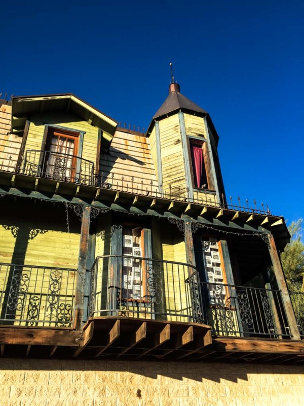 Haunted bordello at Goldfield Ghost Town
