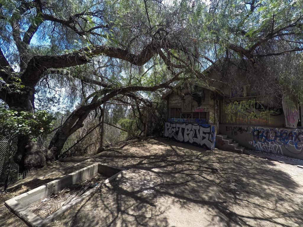Old Los Angeles Zoo Ruins.