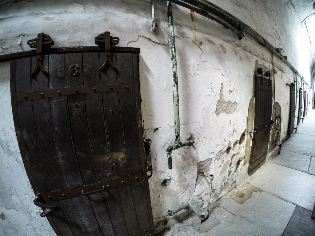Cell Doors at Eastern State Penitentiary.