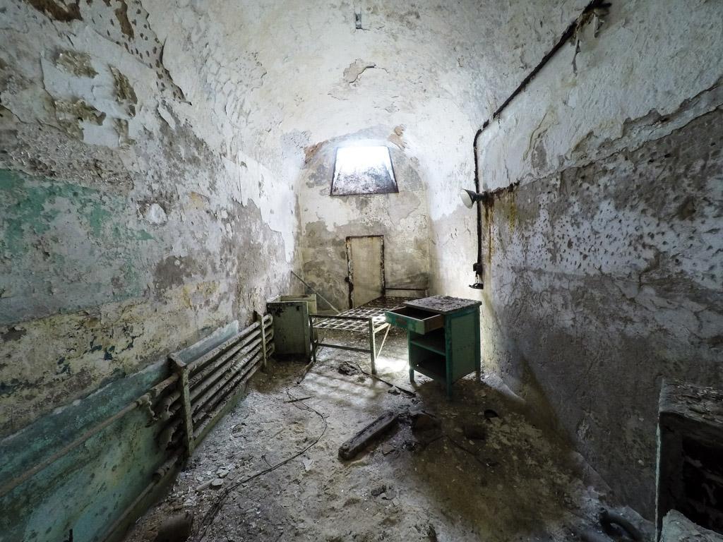 Room in Eastern State Penitentiary.