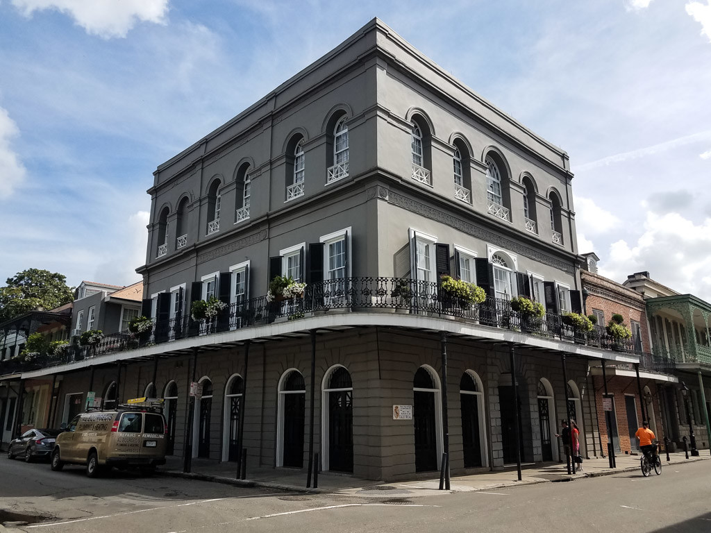 LaLaurie Mansion in New Orleans.