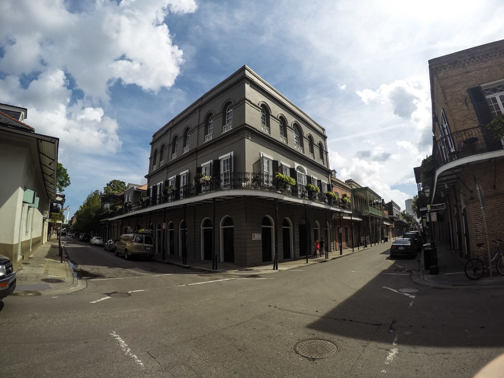 Infamous LaLaurie Mansion.