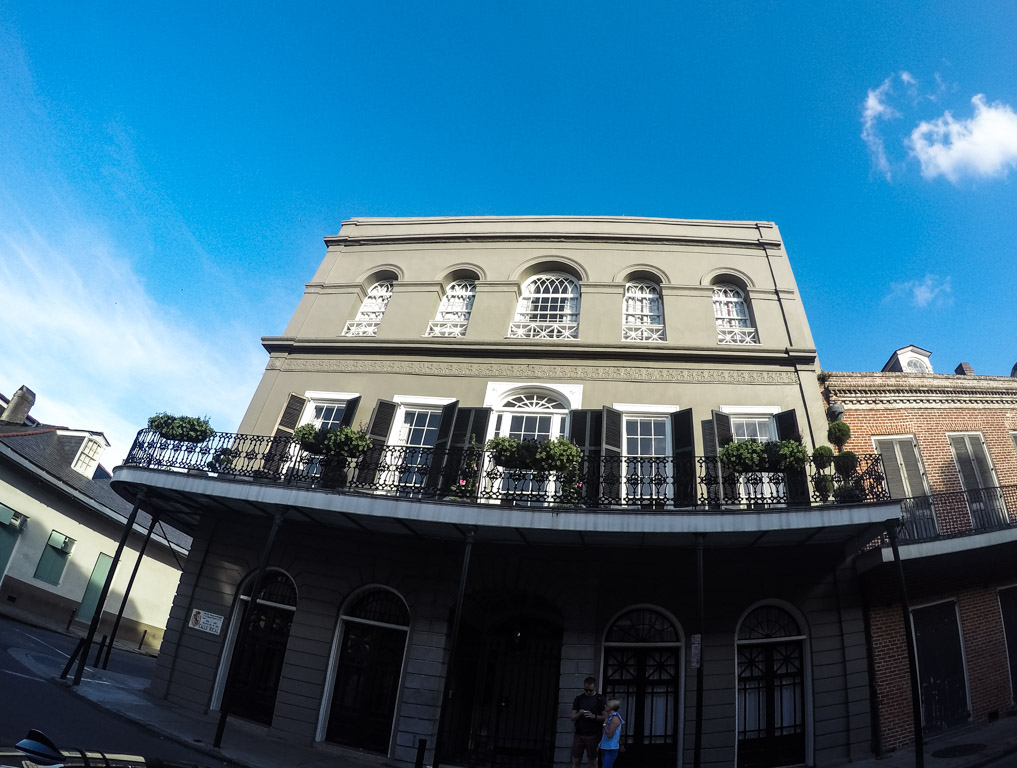 LaLaurie Mansion.