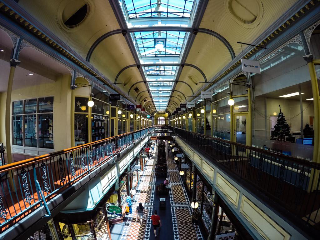 Haunted Adelaide Arcade in South Australia.