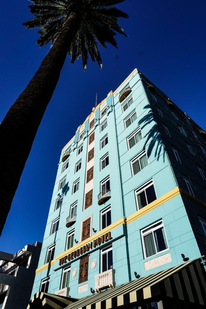 Haunted Georgian Hotel in Santa Monica.