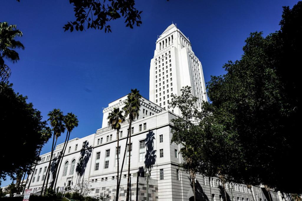 Haunted Los Angeles City Hall.