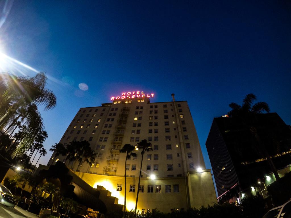 Haunted Roosevelt Hotel.