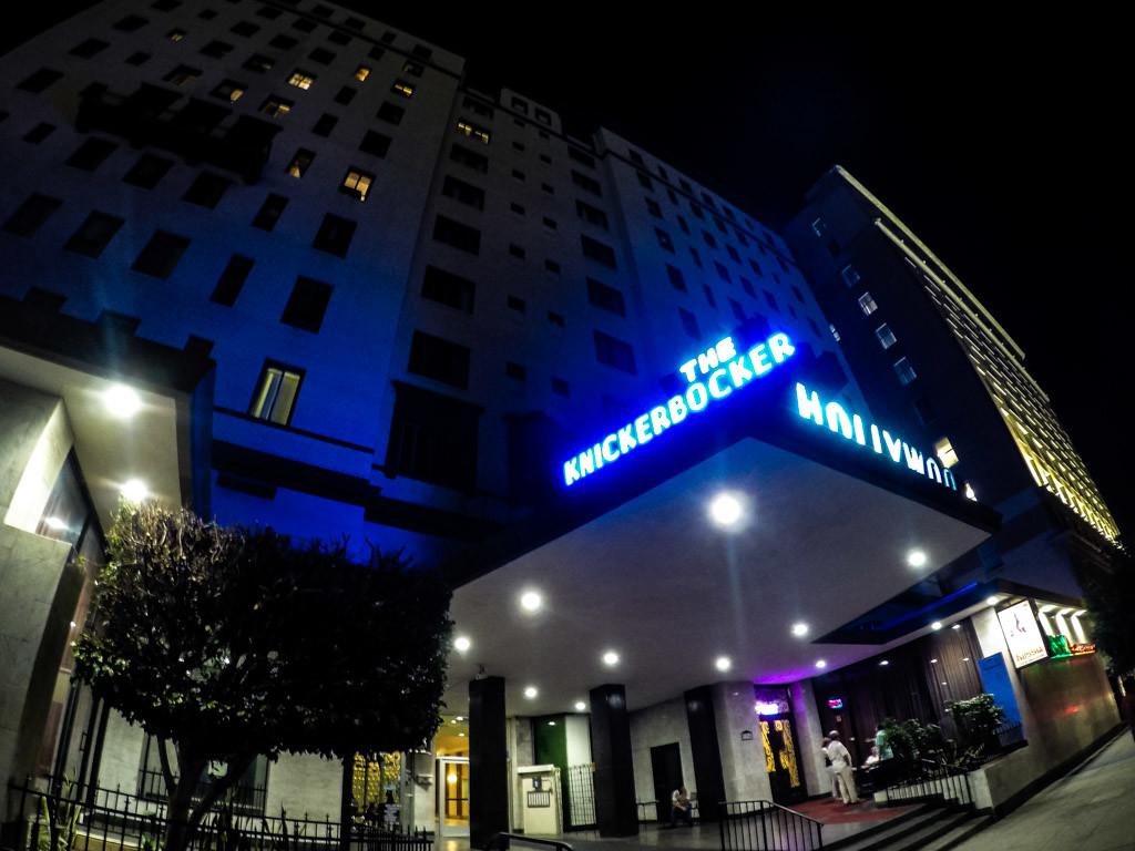 Haunted Knickerbocker Hotel.