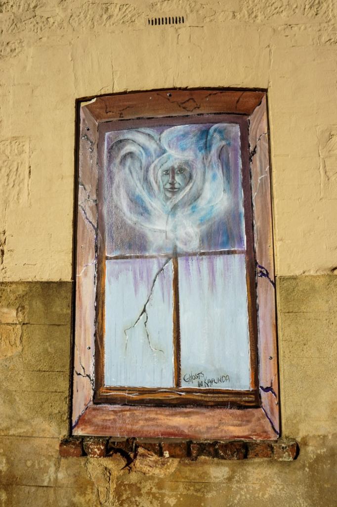 Ghosts of Kapunda mural.