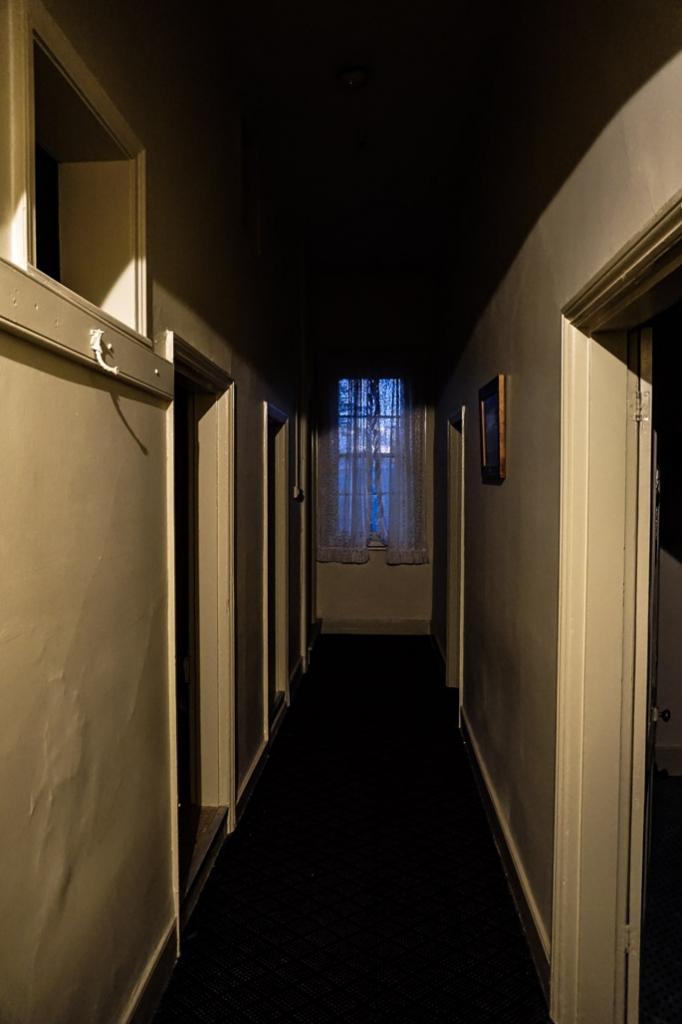 Hallway upstairs of the North Kapunda Hotel.