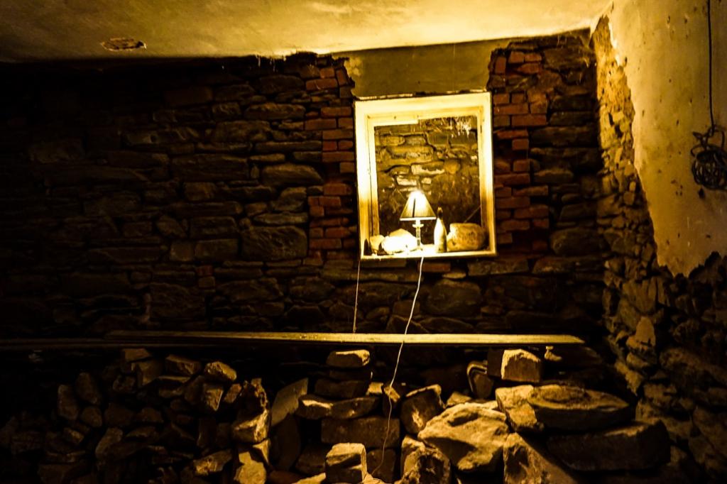 Underground room at North Kapunda Hotel.