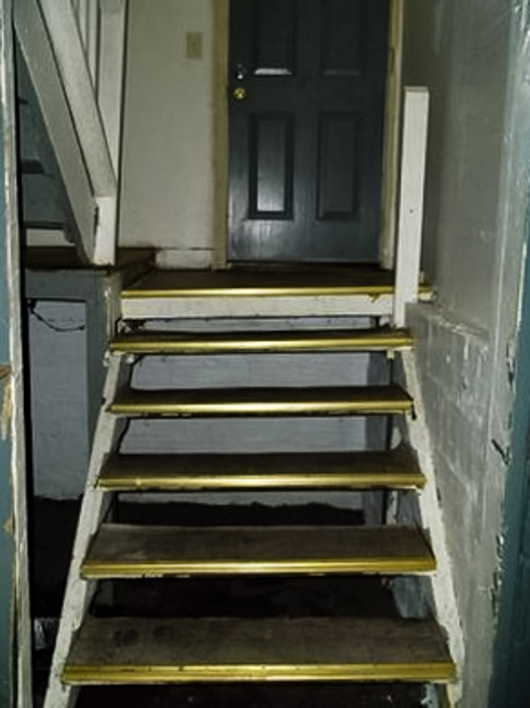 Stairs from the Demon House.