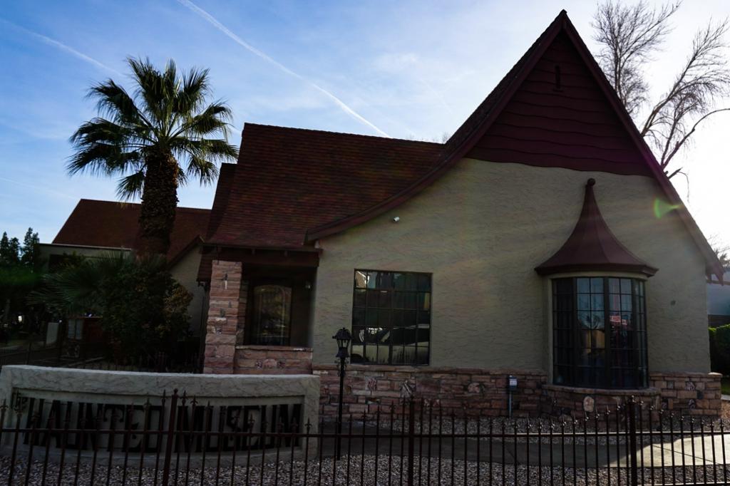 Wengert House in Las Vegas.