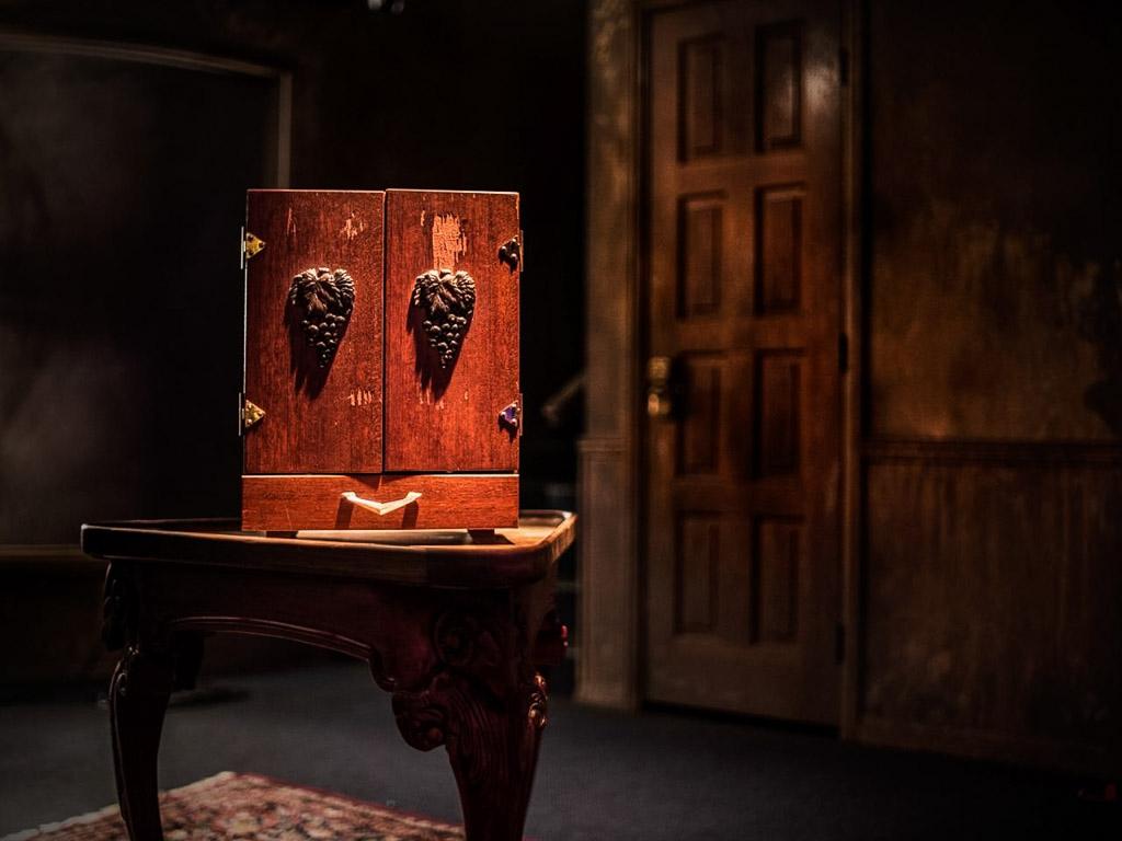 The haunted Dybbuk Box.