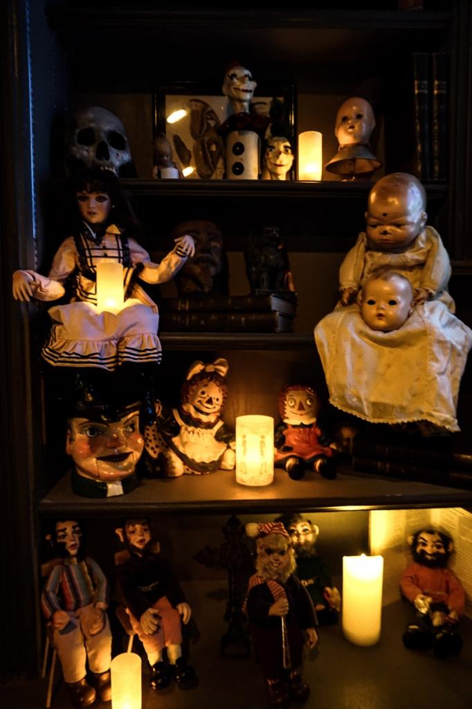 Zak Bagans' The Haunted Museum dolls.