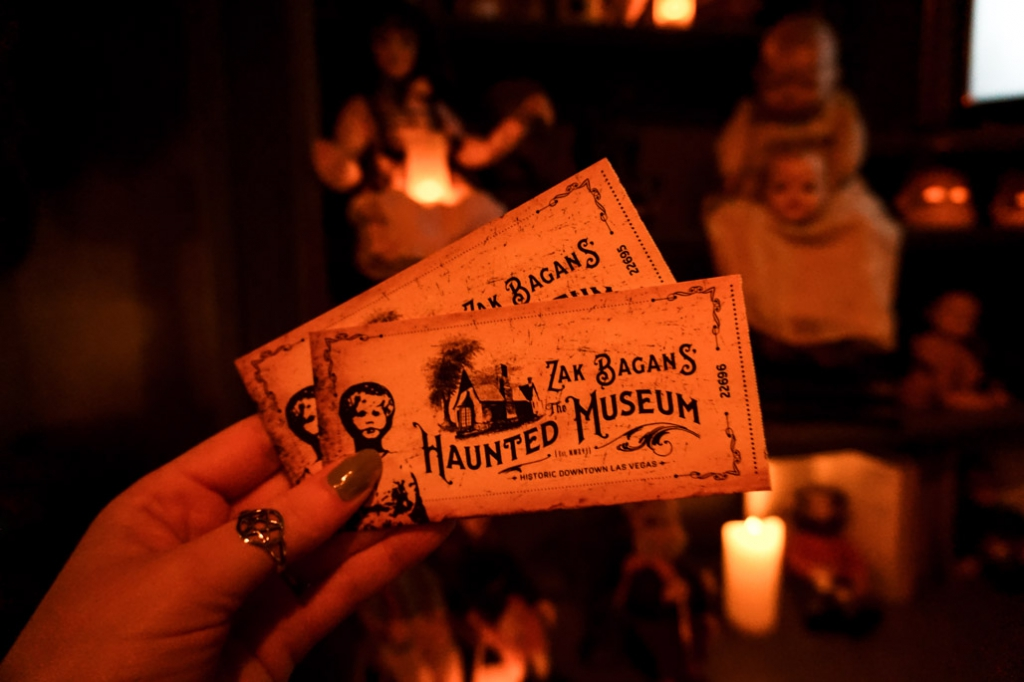 The Haunted Museum tickets.