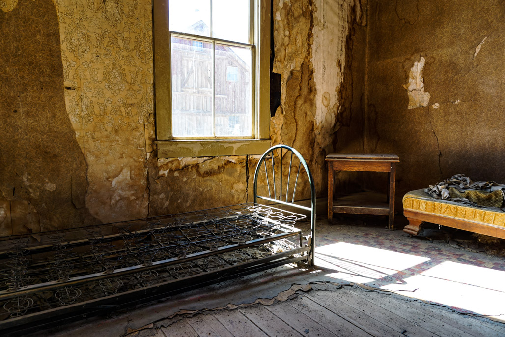Bodie abandoned haunted ghost town.