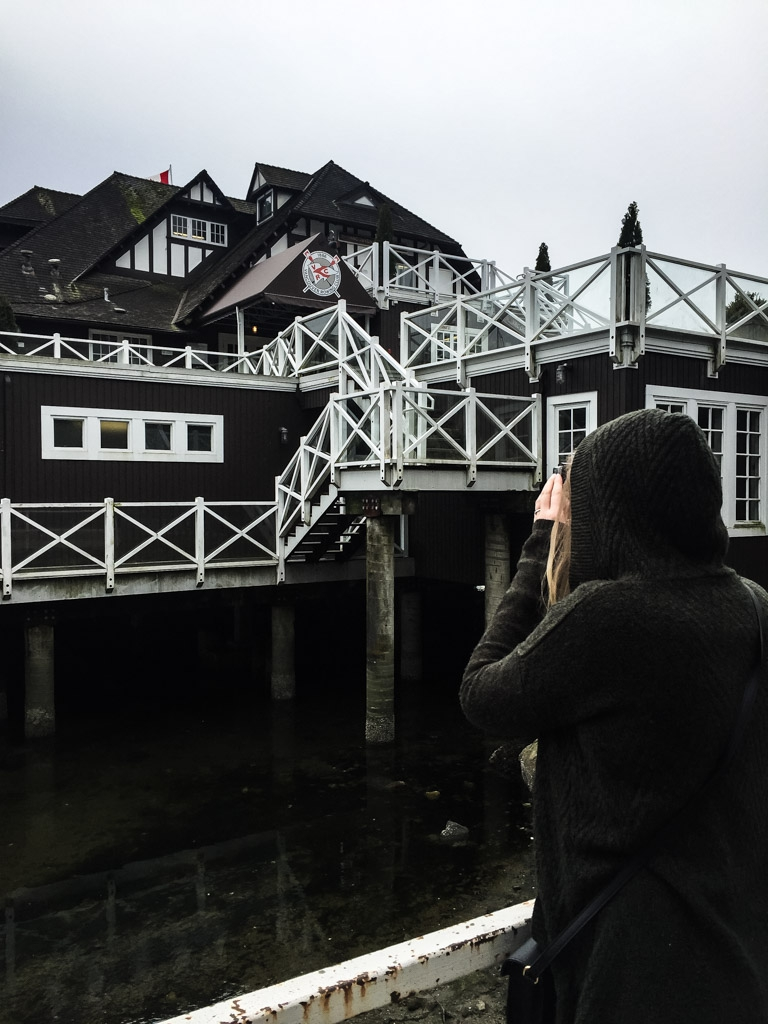 Haunted Vancouver Rowing Club in Stanley Park.