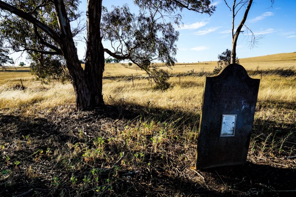 Tombstone in Kapunda, South Australia.