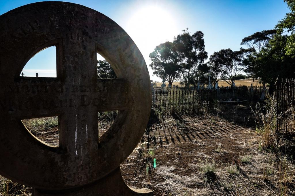 Haunted Cemetery in Kapunda, South Australia.