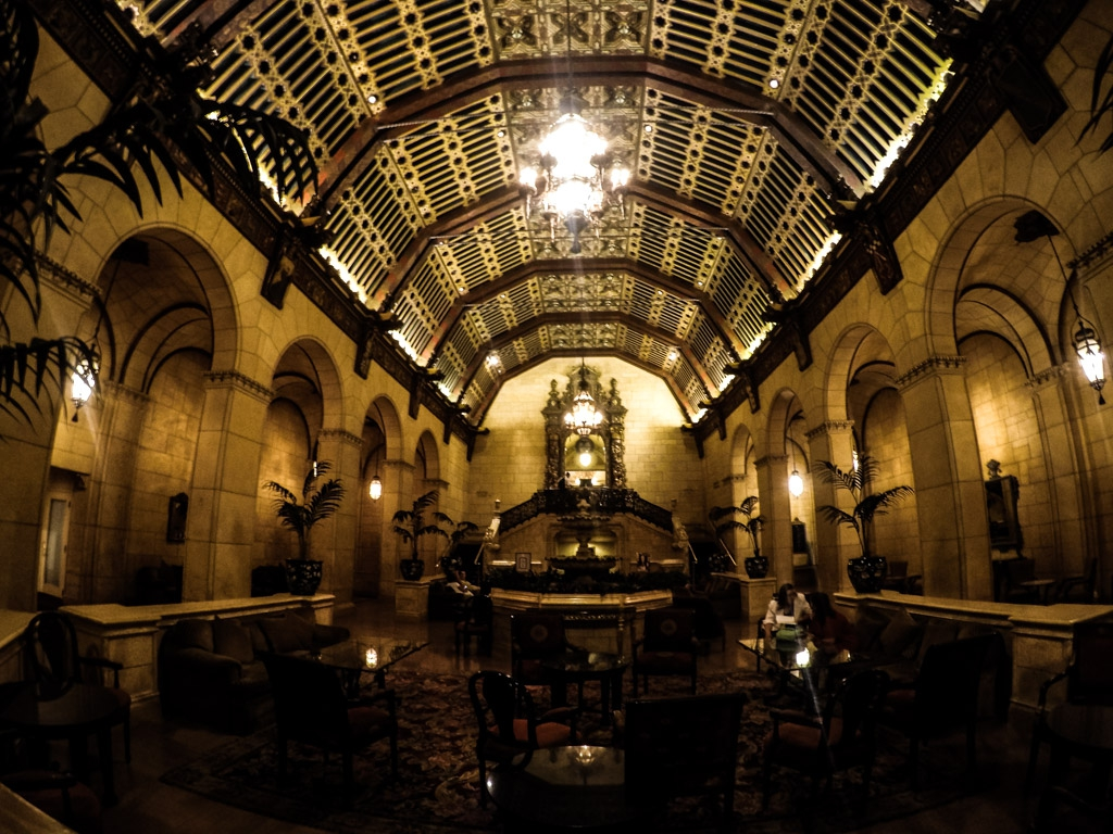 Lobby of the Millennium Biltmore Hotel.