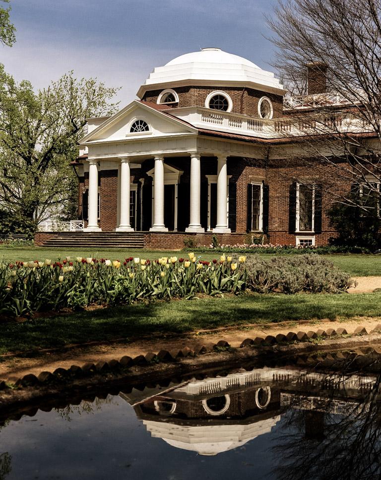 Thomas Jefferson ghost haunts Monticello.