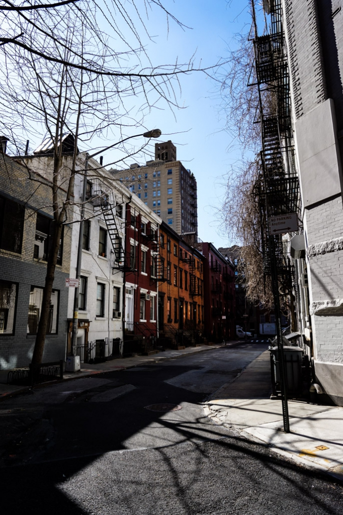 Haunted Gay Street in New York City.
