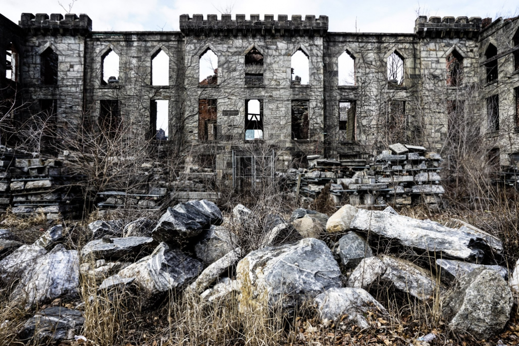 Haunted Renwick Smallpox Hospital, New York City.