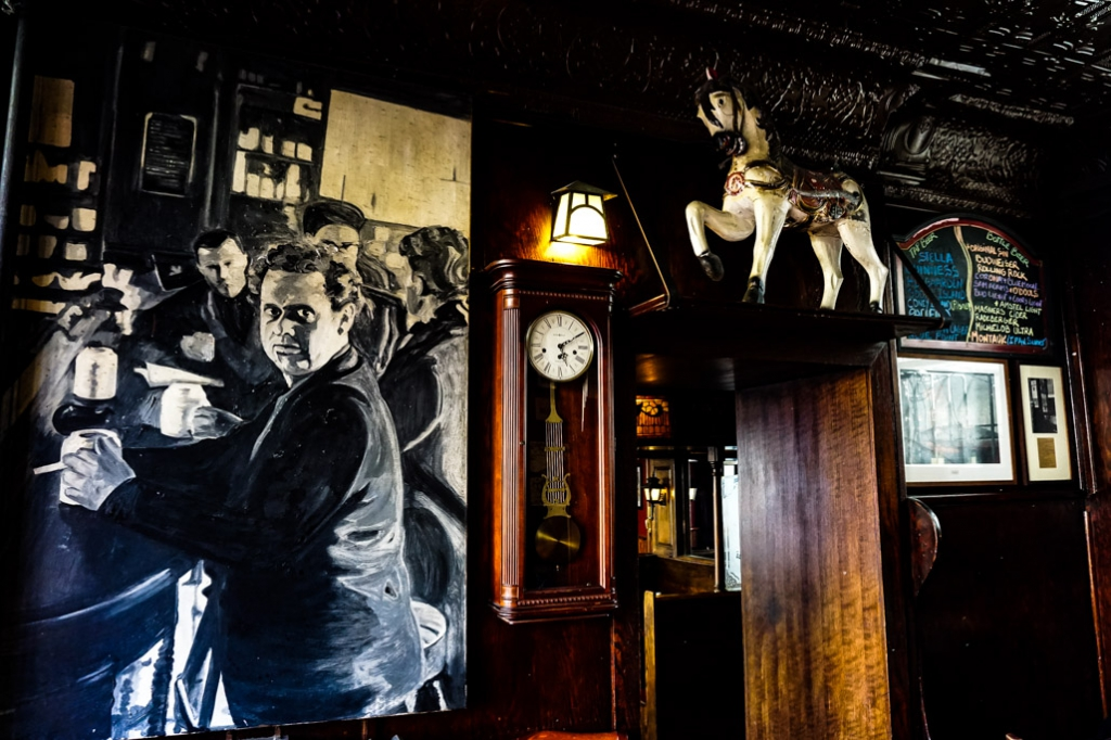 Resident ghost of the White Horse Tavern New York, Dylan Thomas.