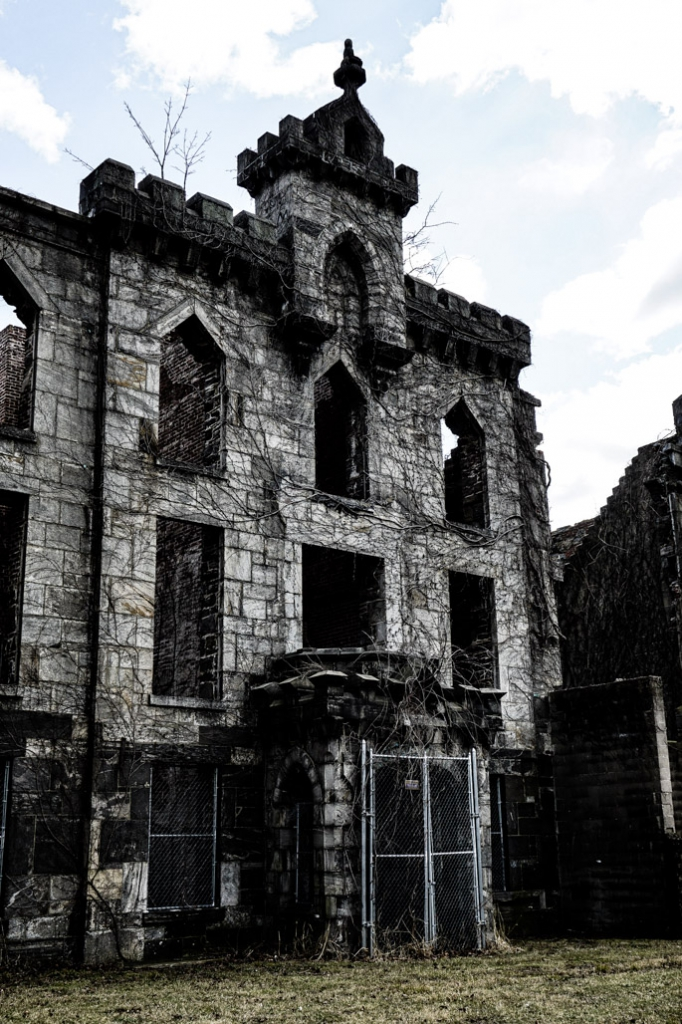 Ruins of Renwick Smallpox Hospital.