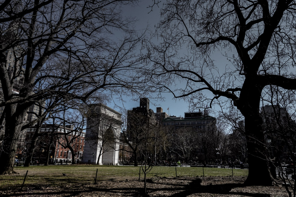 Many bodies buried underneath the haunted Washington Square Park, New York City.