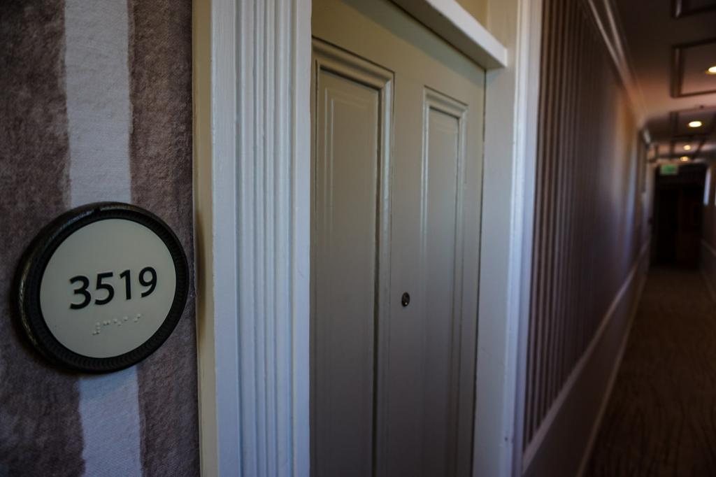 Haunted room inside Hotel Del Coronado.