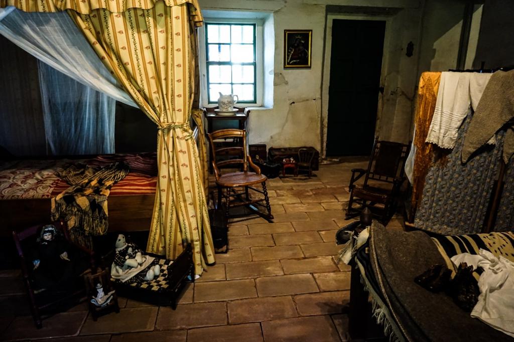 Casa De Estudillo haunted room.