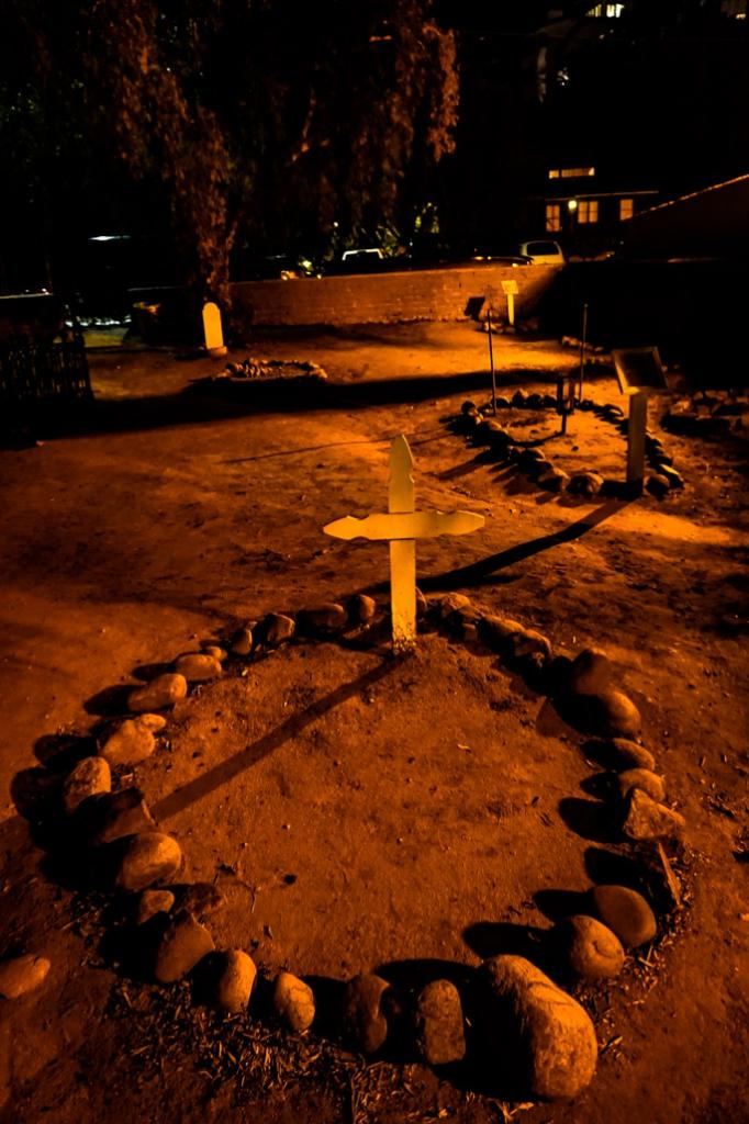 El Campo Santo Cemetery graveyard.