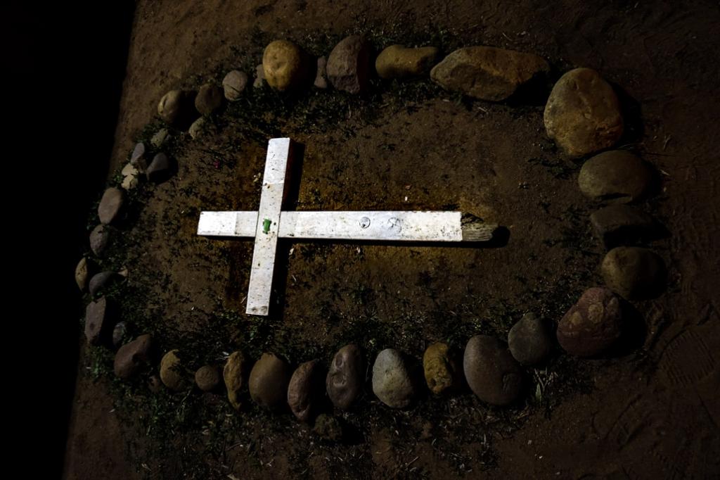 Grave in El Campo Santo Cemetery.
