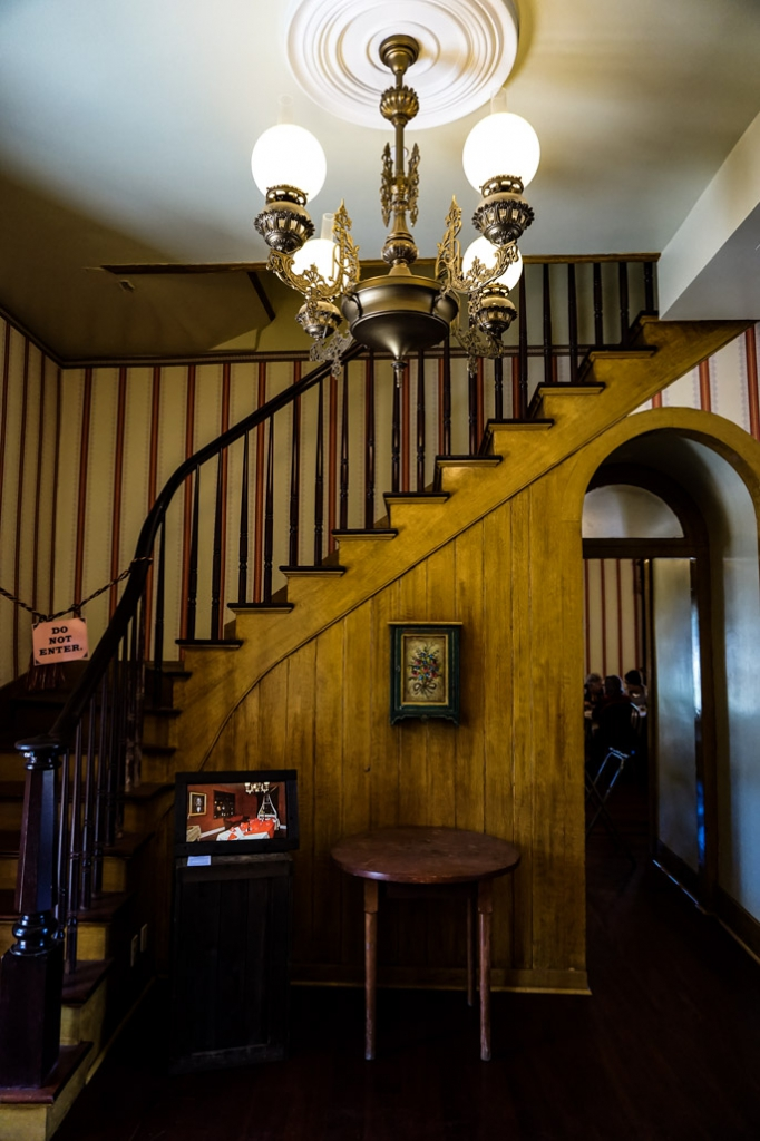 Stairs of Cosmopolitan Hotel.