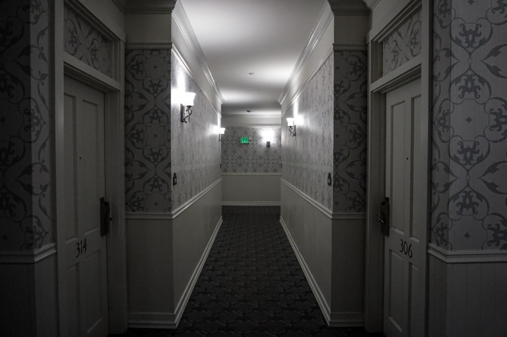 San Diego haunted hotel