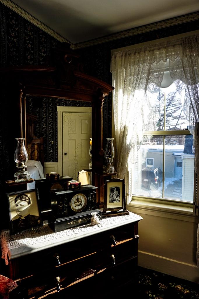 Abby and Andrew Borden bedroom.