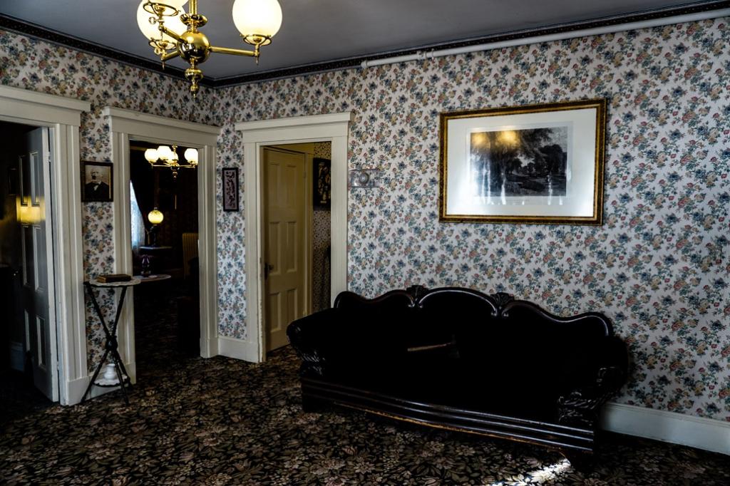 Andrew Borden murder room.