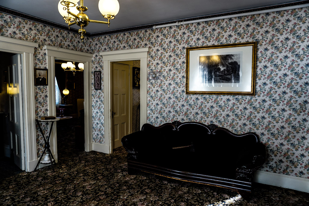 Lizzie Borden Murder House haunted place.