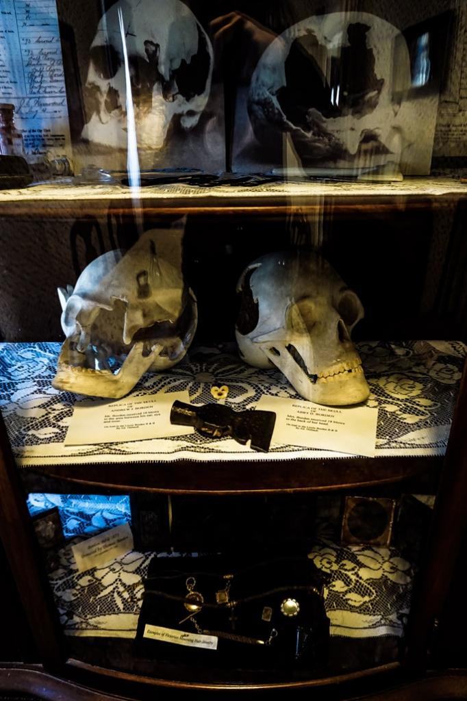 Andrew Borden Abby Borden skulls