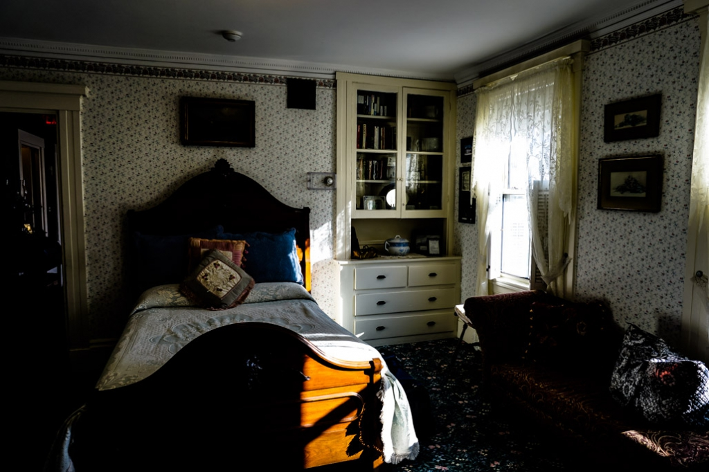 Bedroom of Emma Borden.