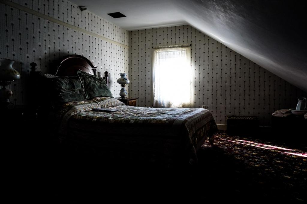 Maggie's bedroom.