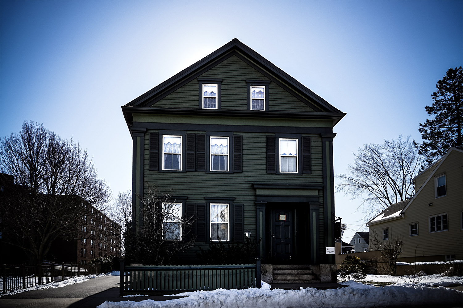 Haunted Lizzie Borden house.