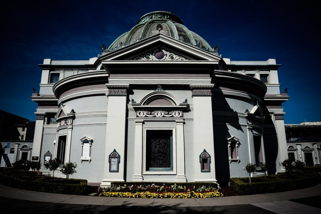 Neptune Society Columbarium in San Francisco.