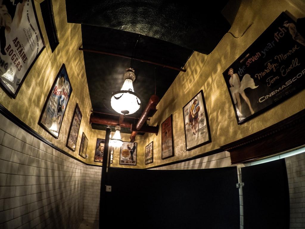 Haunted female bathroom of The Old Spaghetti Factory.
